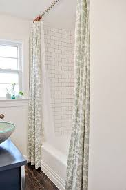 How To Fix A Shower Curtain Rod Best 25 Two Shower Curtains Ideas On Pinterest Urban Barn