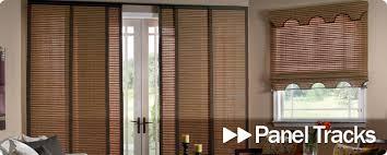 Sliding Panels For Patio Door Sliding Panel Track Blinds Patio Doors Outdoor Goods