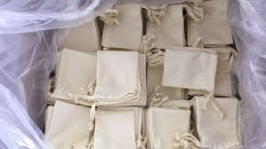 bags in bulk cheap cotton drawstring bag bulk fabric bag factory