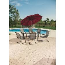 Patio 7 Piece Dining Set - outdoor expressions water edge 7 piece dining set s16s0800t do