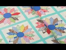 machine quilting dresden plate quilt blocks for beginners youtube
