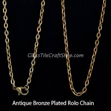 long necklace chain wholesale images Rolo chain necklace wholesale antique bronze 24 inch oval jpg