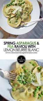 lemon beurre blanc recipe spring asparagus and pea ravioli with lemon beurre blanc recipe