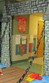 Medieval Decorations Duct Tape Gate A Must Do For Our Knight Party Chris 35th