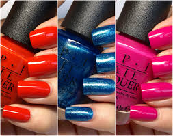 ford mustang by opi nail polish collection in