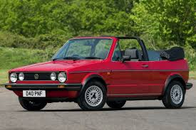 volkswagen convertible cabrio volkswagen golf mk1 cabriolet classic car review honest john