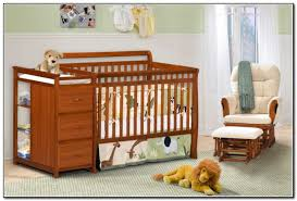 Baby Cribs With Changing Table Attached Nursery Decors Furnitures Baby Crib Changing Table And Dresser
