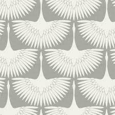 self adhesive removable wallpaper tempaper genevieve gorder feather flock chalk self adhesive