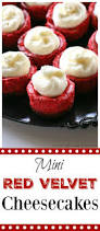 mini red velvet cheesecakes the who ate everything