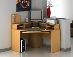Corner Computer Desk Ideas Simple And Small Corner Computer Desk Thedigitalhandshake Furniture