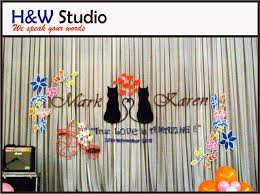 wedding backdrop kuala lumpur list of wedding decorators and reviews