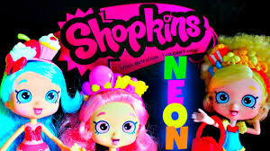 mystery edition neon shopkins fun shopping with jessicake