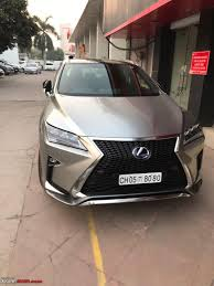 lexus hybrid suv rx450h lexus starts importing the rx450h hybrid suv into india page 2