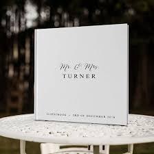 wedding guest book custom wedding guest book custom guest book white guestbook