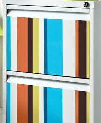 Diy File Cabinet Colorful Striped Diy File Cabinet Diycandy Com