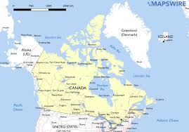The Map Of Canada by Free Maps Of Canada U2013 Mapswire Com