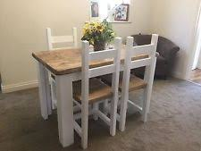 shabby chic dining table farmhouse dining table and chairs ebay