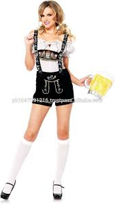 Authentic Halloween Costumes Womens Leather Shorts Authentic German Bavarian Oktoberfest