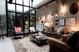 the living room of garage loft in amsterdam 1900 1267