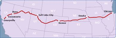 map salt lake city to denver which amtrak train offers the most scenic route trains u0026 travel