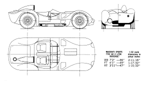 maserati birdcage maserati birdcage tipo 61 2459 blueprint download free blueprint