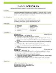 Sample Rn Resume With Experience Enjoyable Design Sample Nurse Resume 4 Best Registered Example