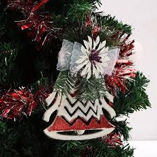 plastic christmas tree ornaments white christmas decoration