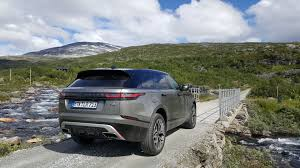 new land rover velar first drive 2018 range rover velar gtspirit