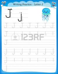 writing practice letter t printable worksheet with clip art