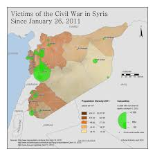 Syria Map Control by Syria U0027s Islamic Movement And The 2011 12 Uprising Origins