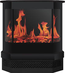 Freestanding Electric Fireplace Warm House Cleveland Freestanding Electric Fireplace Black Cmsf