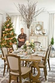 tree branch decorations in the home christmas in the dining room southern living