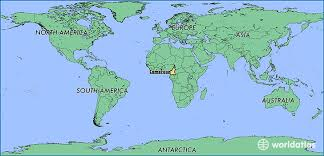 map of cameroon where is cameroon where is cameroon located in the