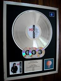 Michael Jackson Bad Album Michael Jackson Bad Lp Multi Platinum Disc Record Award Album Ebay
