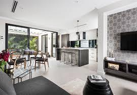 Display Home Interiors Home Builders Australia Living Display Home New Home