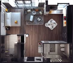 Apartment Designing Best  Small Apartment Design Ideas On - Small one bedroom apartment designs