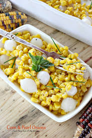 Creamed Pearl Onions Thanksgiving Corn And Pearl Onions Can U0027t Stay Out Of The Kitchen