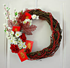 autumn harvest wreath celebrate chinese moon festival and