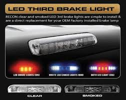 2001 dodge ram 1500 third brake light recon led 3rd brake light 1994 02 dodge ram 1500 2500 3500