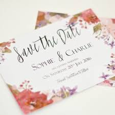 Save The Date Wedding Cards Save The Dates