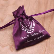personalized goodie bags personalized satin favor bags 2 or less favors favors by