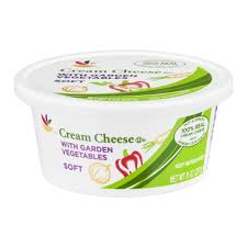 sb cream cheese with garden vegetables soft 8 0 oz from stop