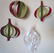 how to make paper tree ornaments hobbies