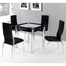 glamorous glass square dining table beautiful for perfect your