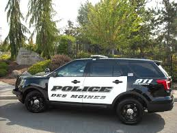 Ford Explorer Blacked Out - des moines police department rolls out brand new black and white