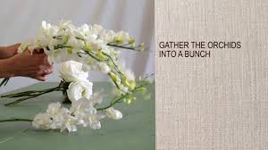 Cascading Bouquet How To Make A Cascading Bouquet Youtube