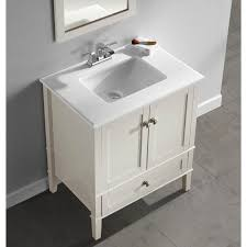 30 Bathroom Vanity With Drawers by Wyndenhall Windham Soft White 2 Door 30 Inch Bath Vanity Set With