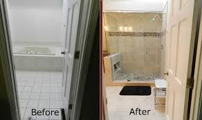 How To Convert A Bathtub To A Walk In Shower Tub To Shower Conversions Tub To Shower Conversion Pinterest Home