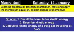 momentum gcse by samprice4987 teaching resources tes