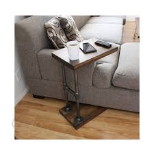 industrial c table side table living room furniture end